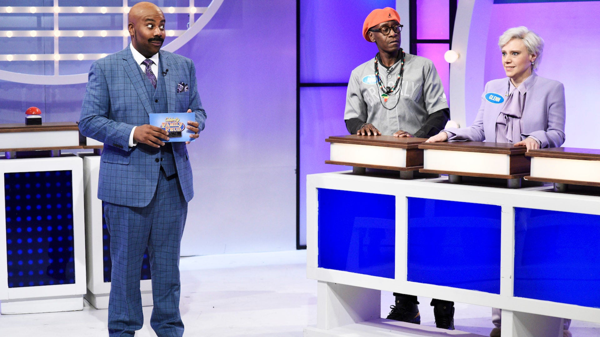 Steve Harvey Jokingly Told Kenan Thompson To 'Watch Yourself' Over Impression