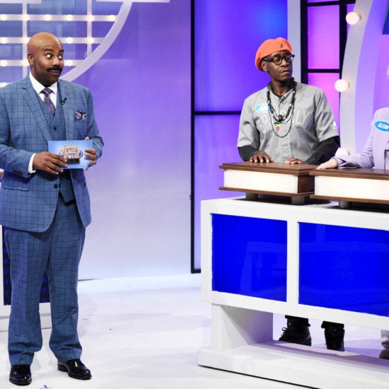 Steve Harvey Told Kenan Thompson To 'Watch Yourself' Over 'SNL' Impression, But It Was All Love