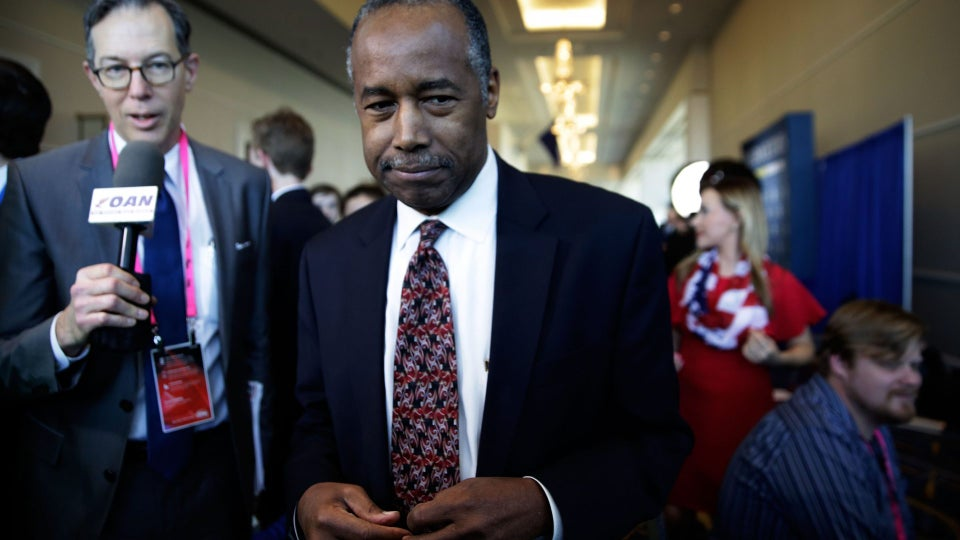 Ben Carson Insists That Trump Is Not Racist