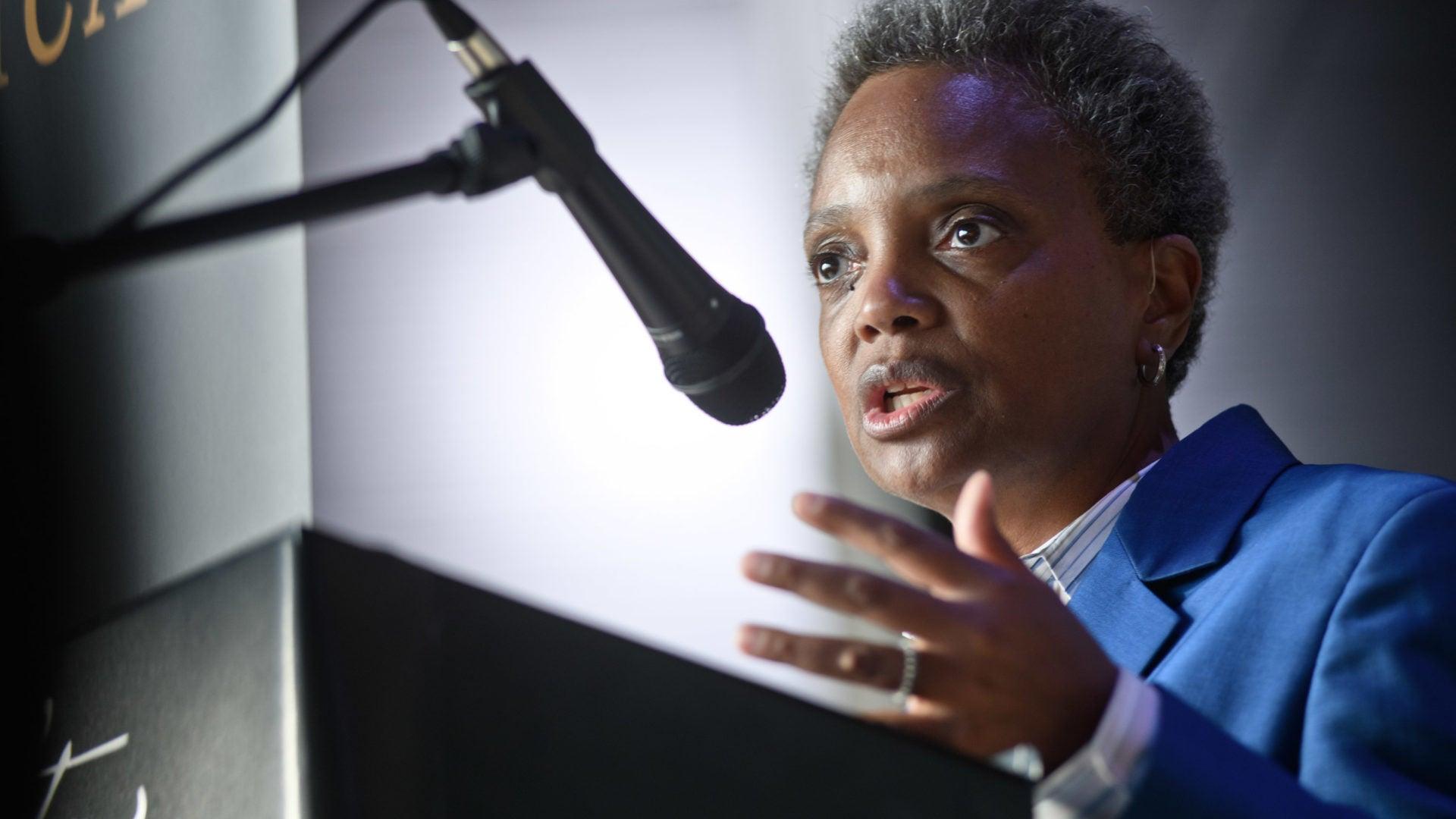 Chicago Mayor Lori Lightfoot Fires Police Chief Eddie Johnson