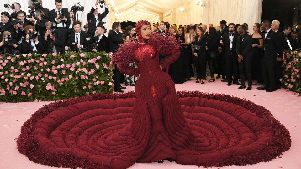 Cardi B's Met Gala LEWK Needed 10 Handlers and We're Here For It