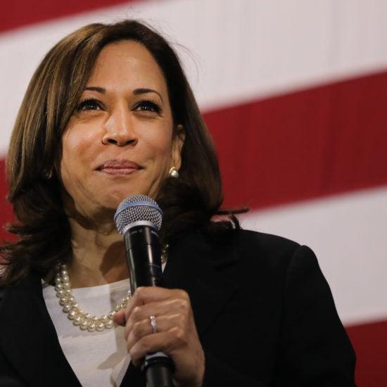 Kamala Harris Promotes Past As Prosecutor As A Strength In S. Carolina Speech