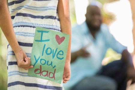 Show Your Appreciation With These Father's Day Cards For Black Dads