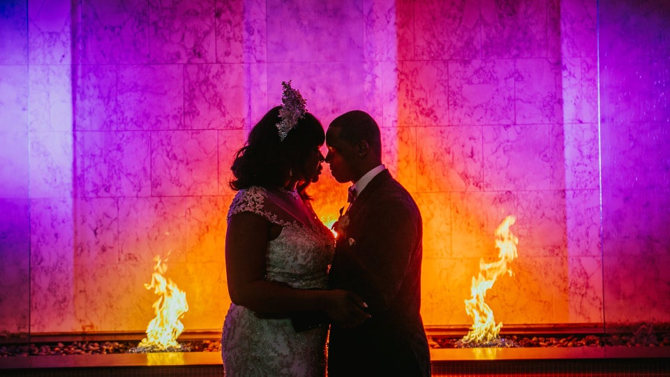 Bridal Bliss: Prezzie and Ty's Lit Reception Was A Wedding Party To Remember