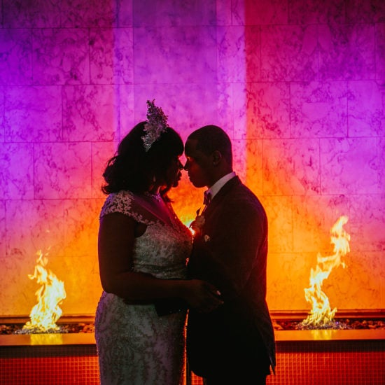 Bridal Bliss: Prezzie and Ty's Lit Wedding Reception Was A Party To Remember