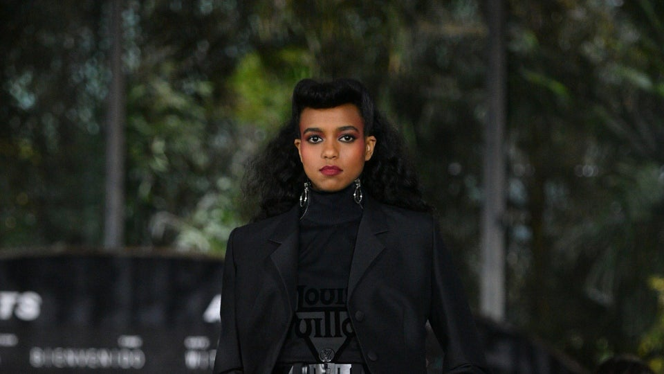 It's All About The 80s For Louis Vuitton's Resort 2020 Runway Beauty