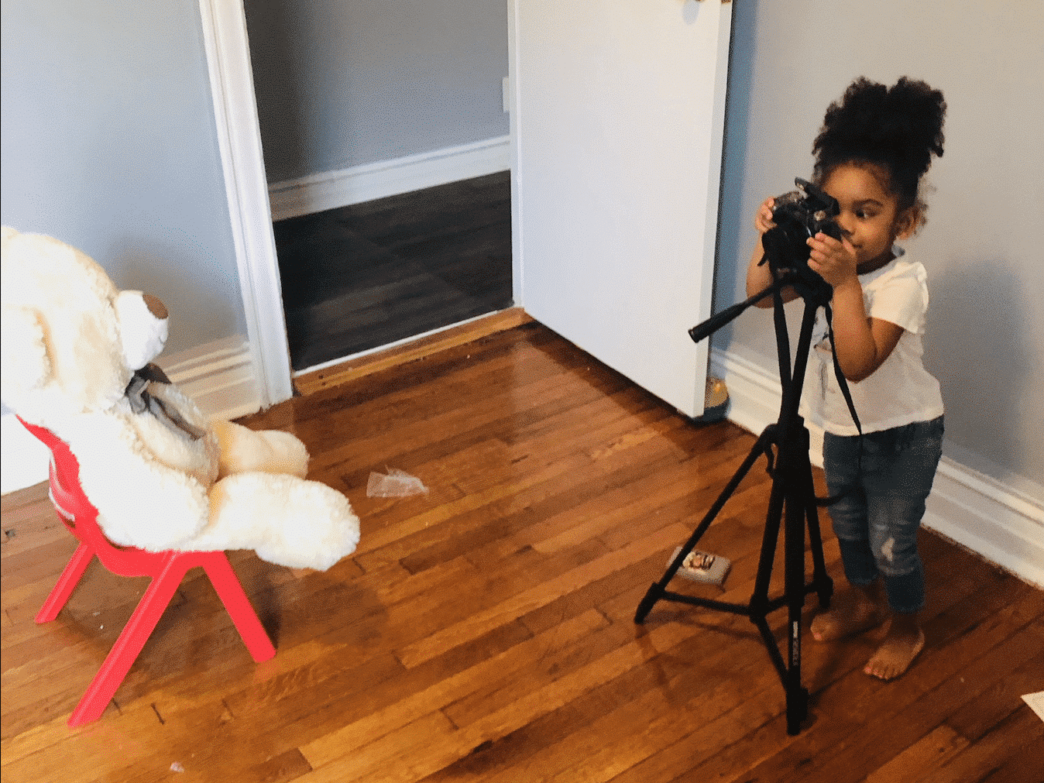 This Three-Year-Old From Brooklyn Is Becoming Internet Famous For Her Photography Skills