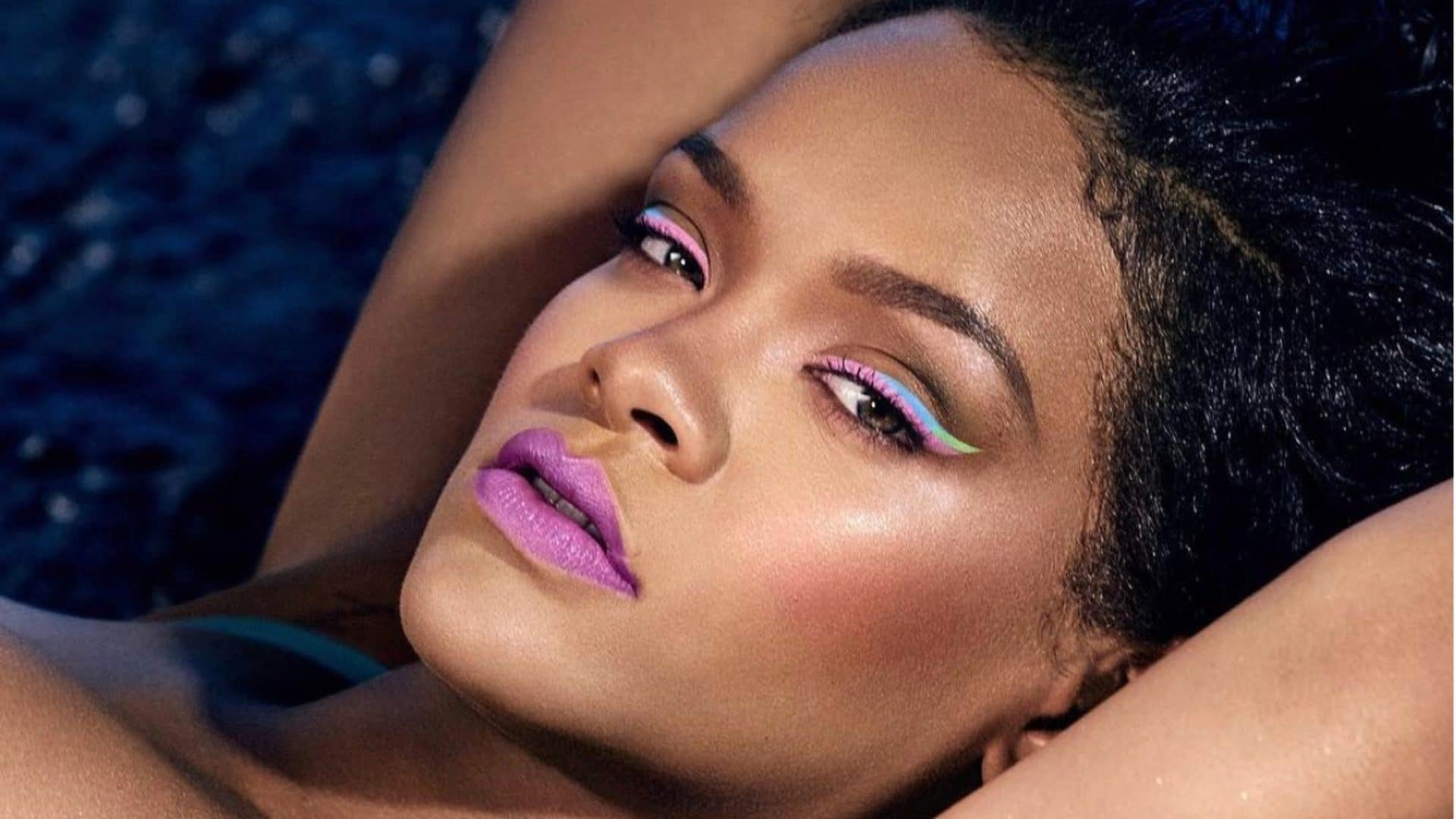 Rihanna Looks Hot AF In New Fenty Beauty