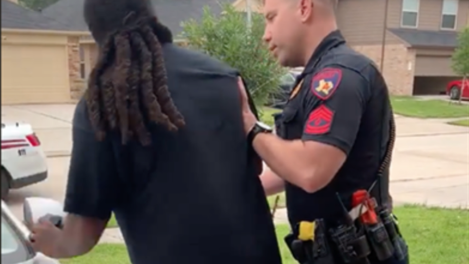 Viral Video Shows Texas Man Being Misidentified By Police Deputy As A Fugitive