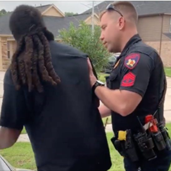 Viral Video Shows Texas Man Misidentified By Police Deputy As Fugitive