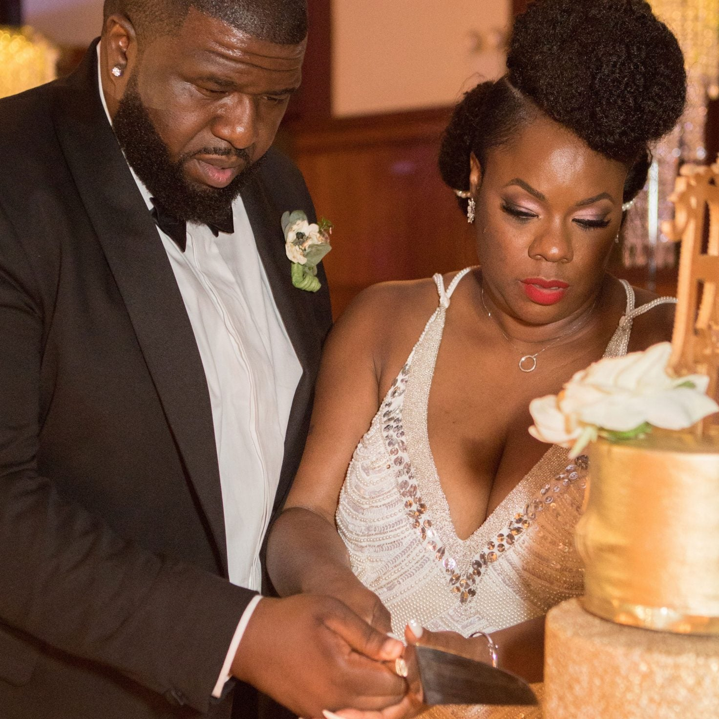 Bridal Bliss: A Round of Applause For Tuwisha and Harold's Renaissance Wedding Day