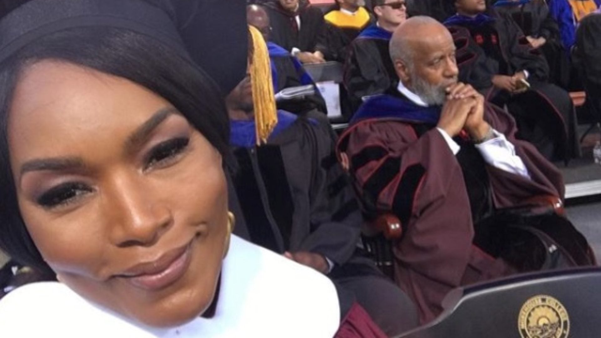 Angela Bassett Receives Honorary Degree From Morehouse College