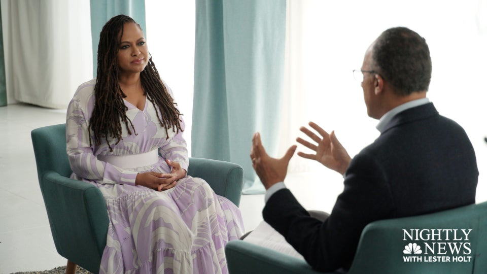 Exclusive Preview: Ava DuVernay Sits Down With Lester Holt To Discuss New Series, Portraying Life After Incarceration