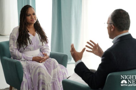 Exclusive Preview: Ava DuVernay Sits Down With Lester Holt To ...