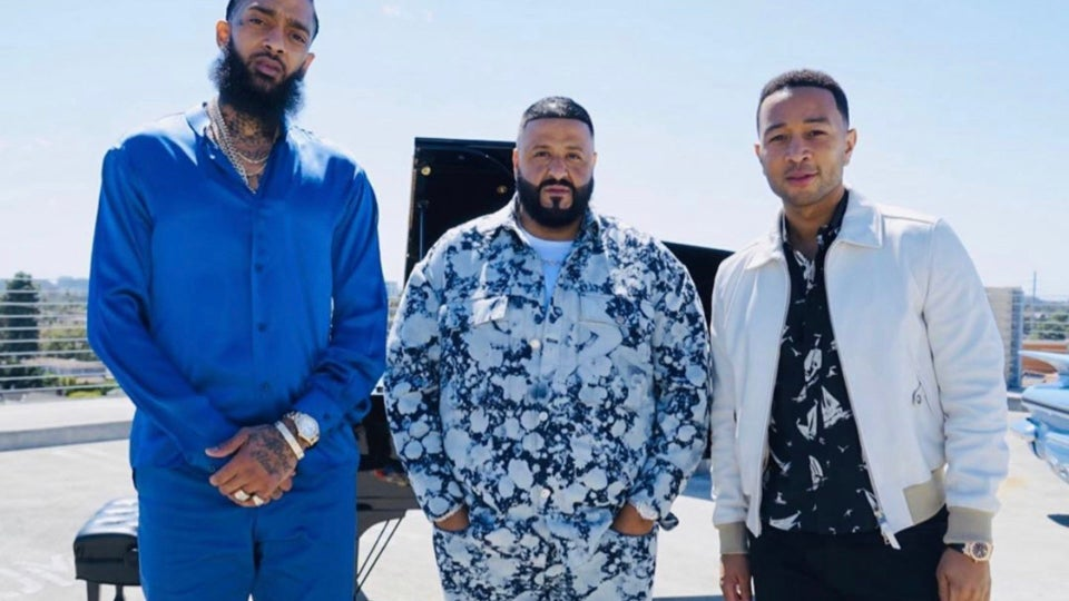 DJ Khaled And John Legend Pay Tribute to Nipsey Hussle on 'Saturday Night Live'