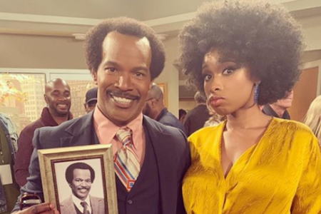 Jennifer Hudson Took Us Behind-The-Scenes Of 'The Jeffersons' Live Revival And It Looked Like Tons Of Throwback Fun