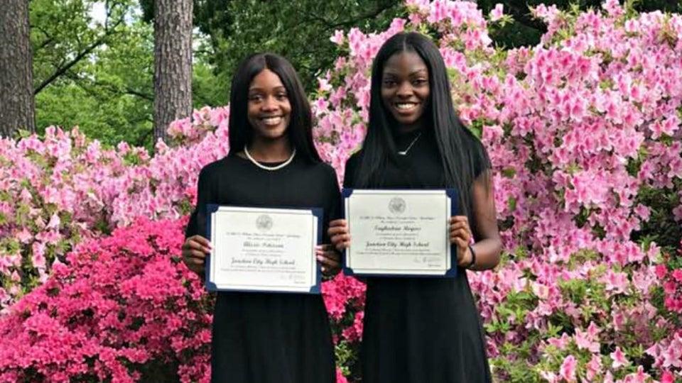 Two Black Girls Make History At Arkansas School As Valedictorian, Salutatorian
