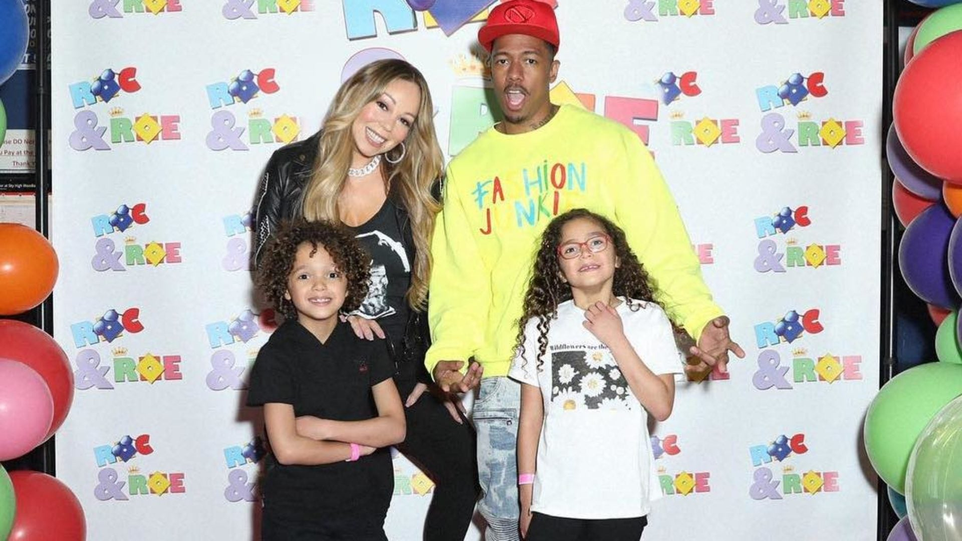 Mariah Carey and Nick Cannon Had A Blast At Their Twins' Laser Tag Birthday Party