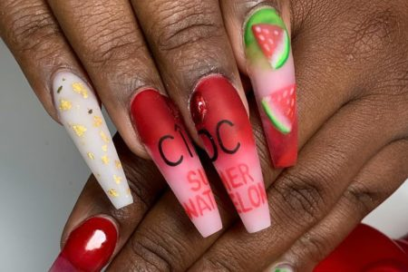 9 Reasons To Get Into Logo Nails This Spring