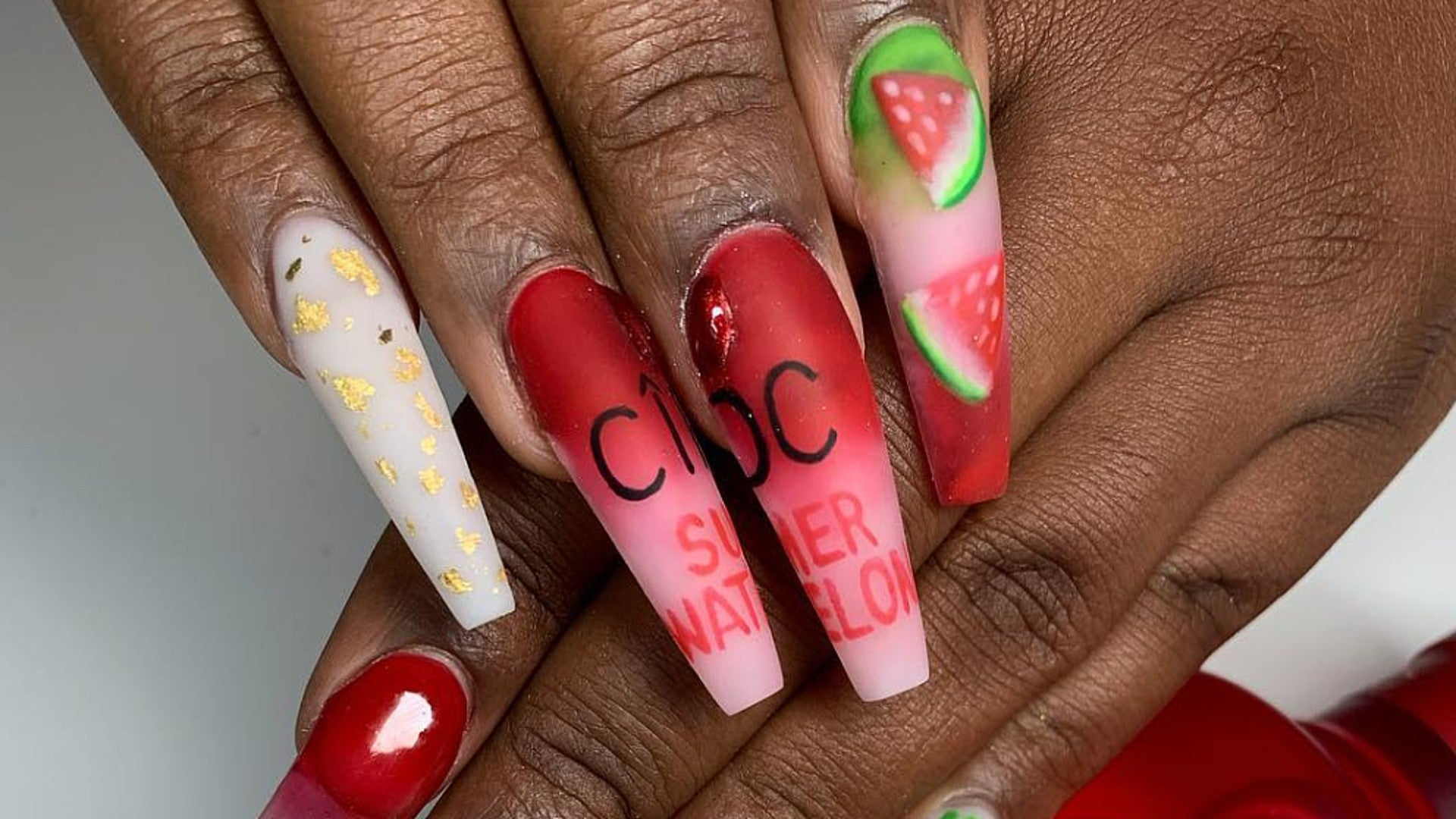 9 Reasons To Get Into Logo Nails This Spring - Essence