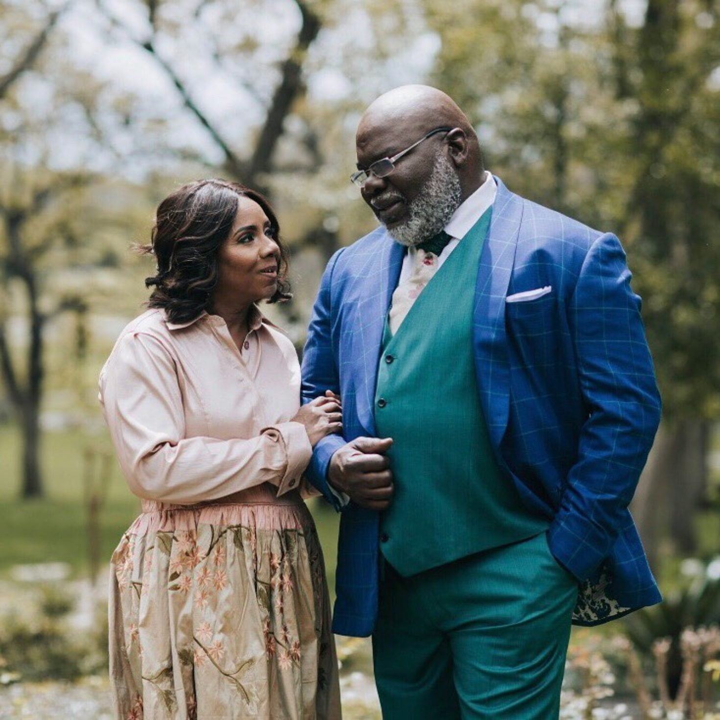 T D  and Serita Jakes Celebrate 37 Years Of Marriage: 'You Are My