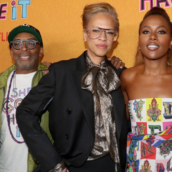 Spike Lee, Tonya Lewis Lee, DeWanda Wise, And More Celebs Out And About