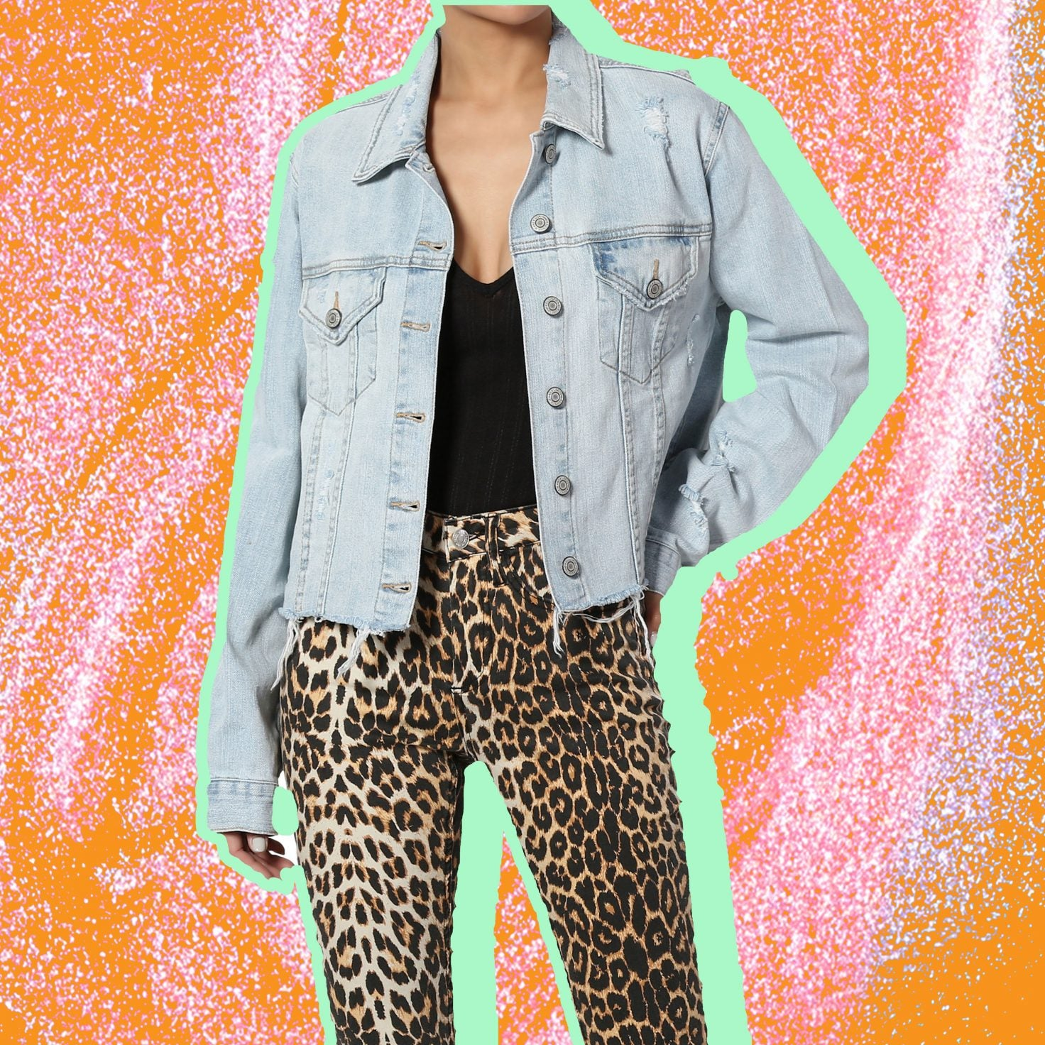 Look No Further, We Found The Jean Jacket You Need In Your Life This Summer