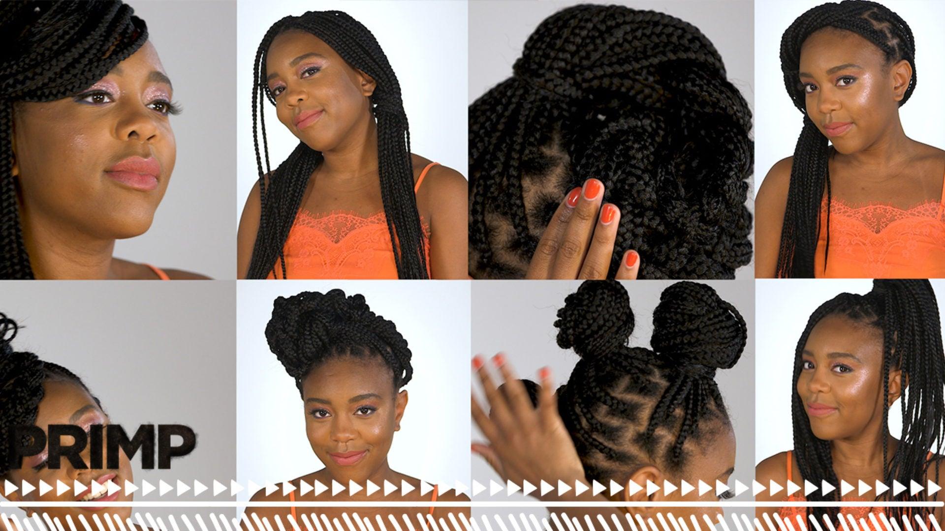 Watch \u0027PRIMP\u0027 Style Your Box Braids 18 Ways , Essence