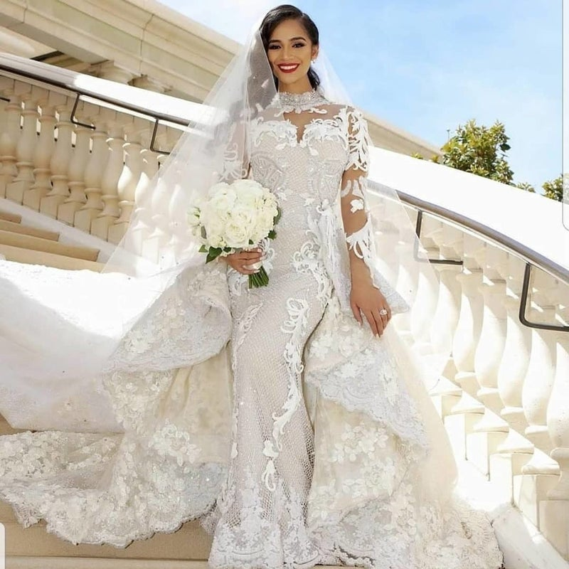 Stunning Wedding Dresses By Black Owned Brands Essence,Resell Wedding Dress