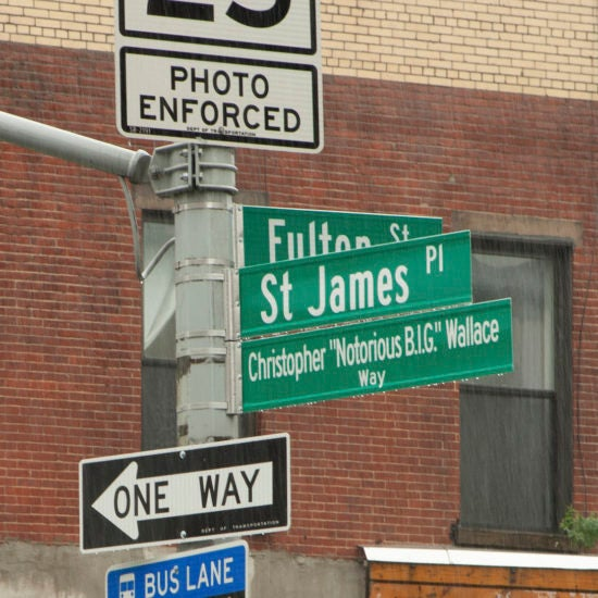Brooklyn Comes Out In The Rain To See Notorious B.IG. Get Street Named After Him