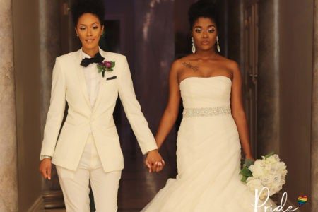 Bridal Bliss: Miesha and Aleigha Only Used Black Vendors For The Wedding Day