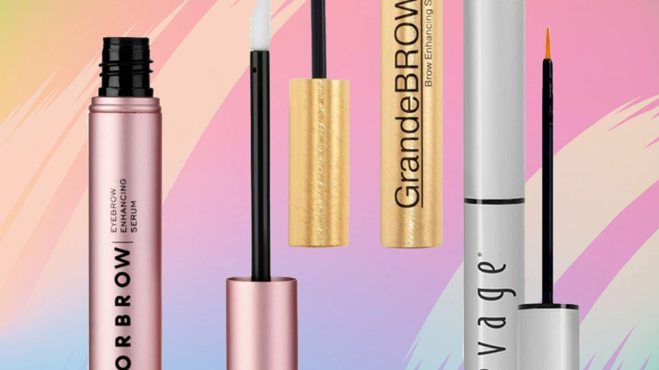 8 Products To Help Grow Your Eyebrows Back