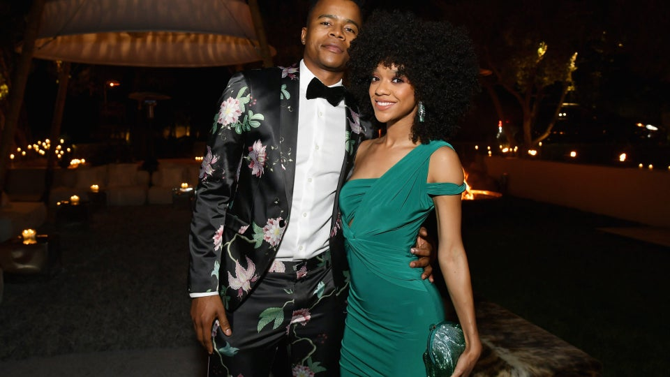 'The Chi' Star Tiffany Boone And Her Fiancé, 'Dear White People' Star Marque Richardson, Have The Sweetest Bond