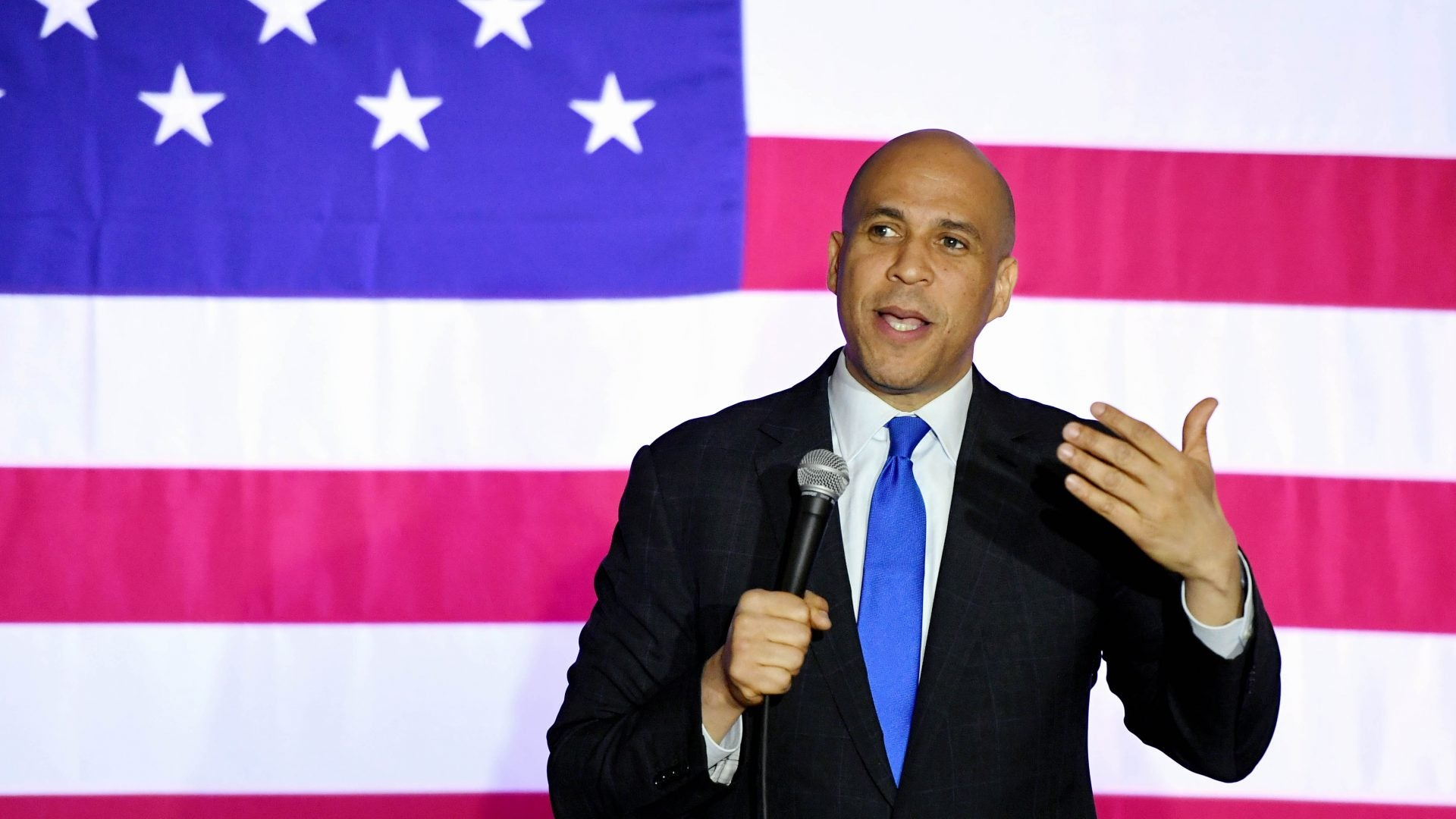 Sen. Cory Booker: 'This Election Can't Just Be About Trump'