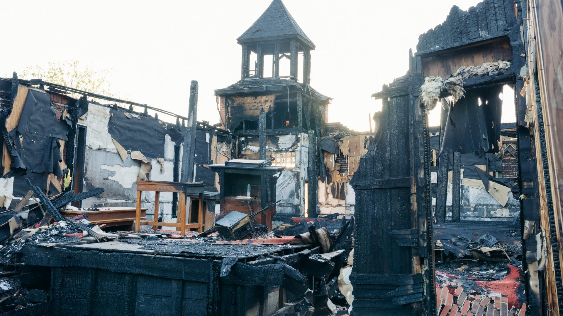 Louisiana Church Arson Suspect Charged With Hate Crime