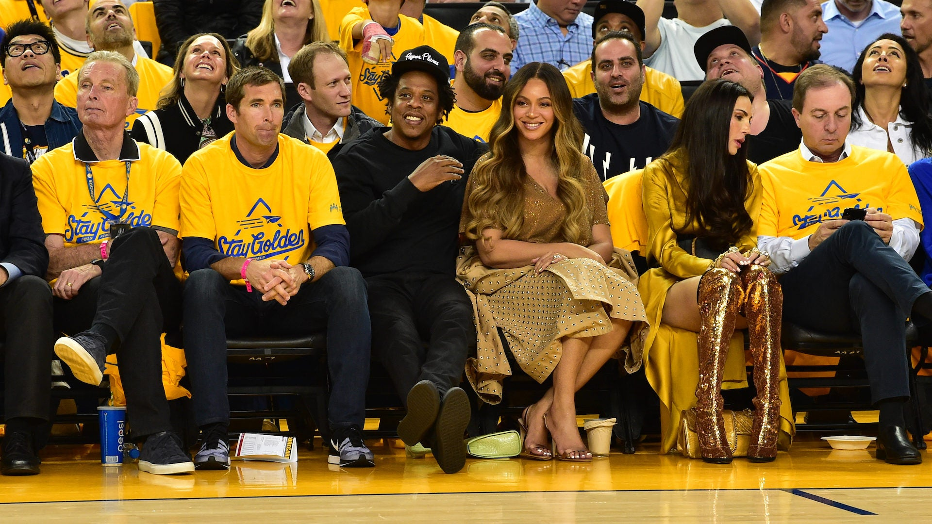 Best Photos Of Beyonce And Jay Z Courtside At Nba Games Over The