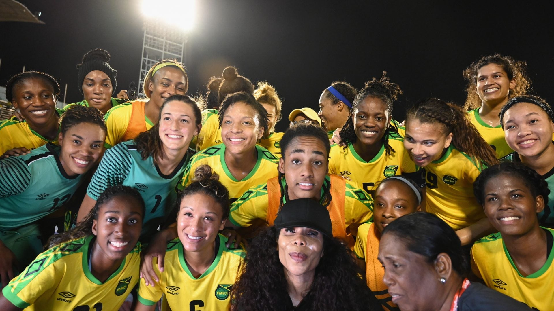 The Jamaican Women's National Soccer Team Makes Historic Debut At Women's World Cup