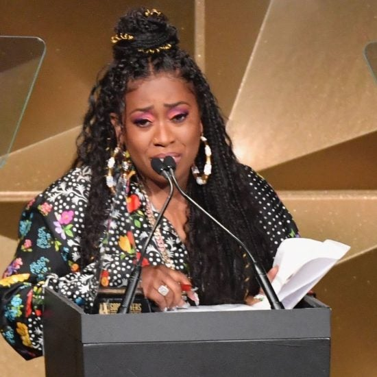 Missy Elliott Tears Up While Making History, Becoming First Female Rapper To Be Inducted Into Songwriters Hall Of Fame