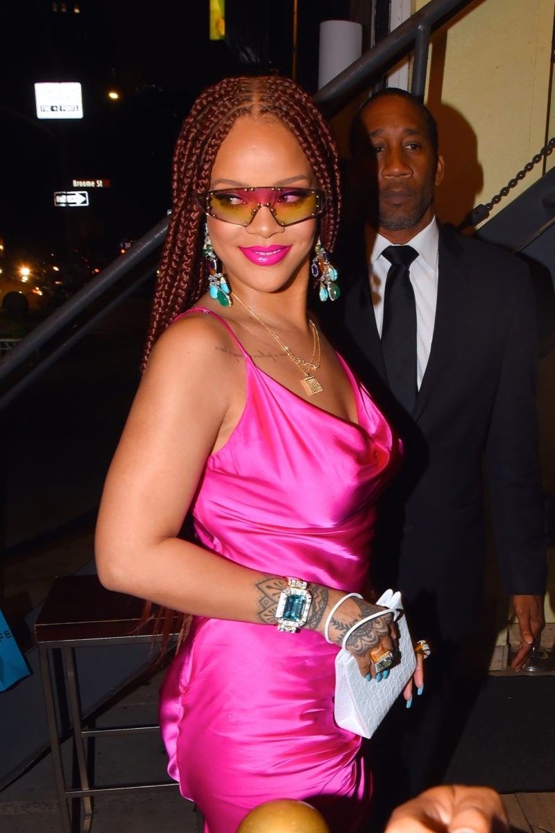 Rihanna Stunned In Box Braids At Fenty Pop Up Shop Essence
