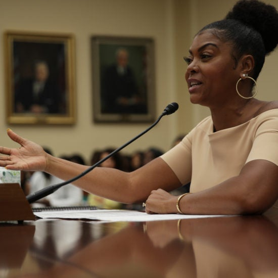 Taraji P. Henson Gives An Emotional Testimony To Congress On Mental Health Among Black Youth: 'This Is A National Crisis'