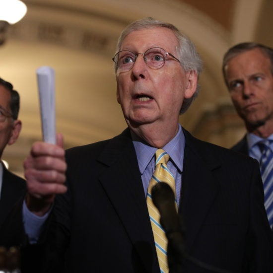 Mitch McConnell Thinks Former President Obama Was A Form Of Reparations