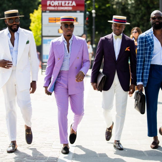 These Stylish Black Men Took Florence's Pitti Uomo By Storm