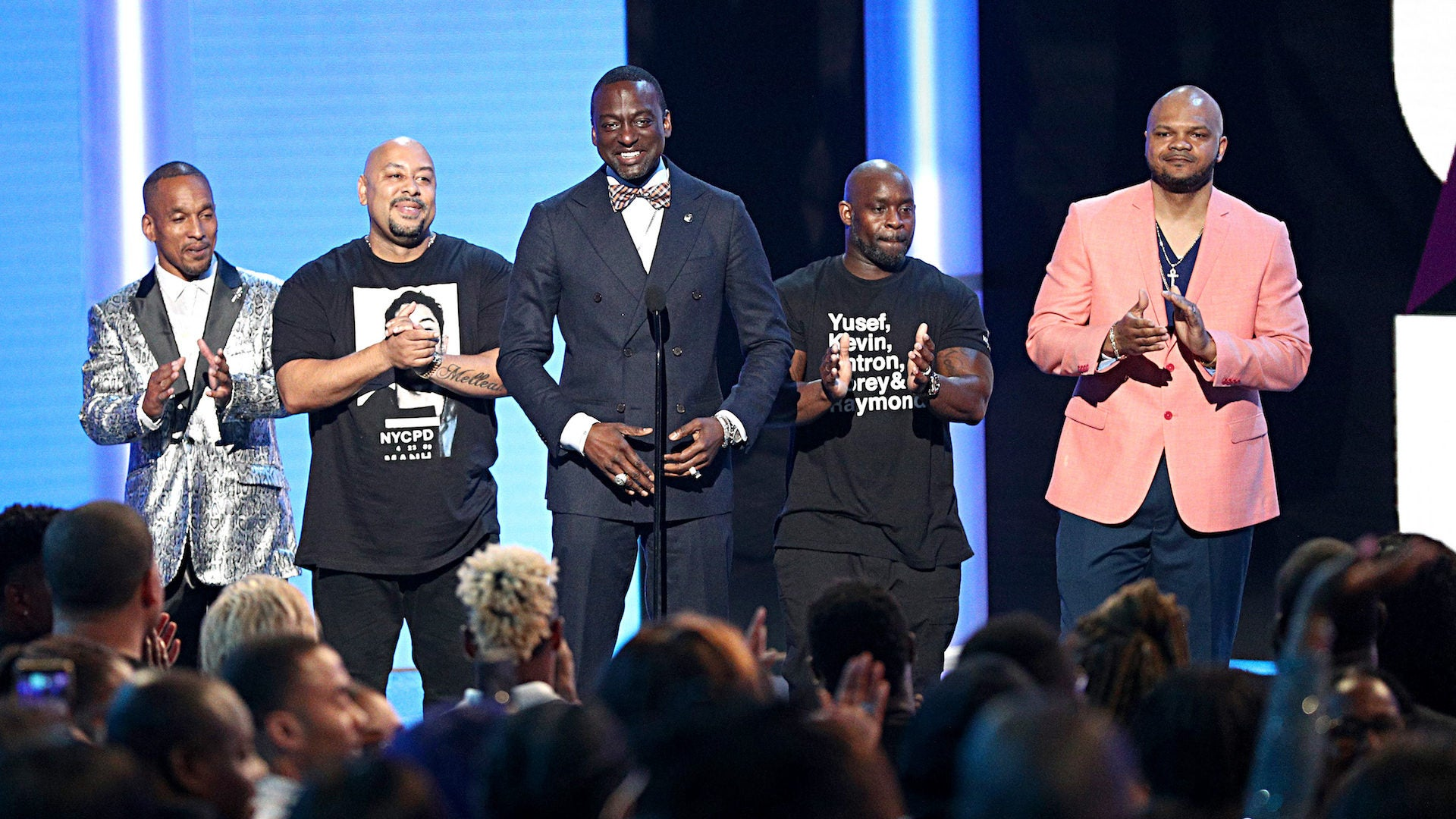 The Exonerated Five Get Standing Ovation At BET Awards 2019