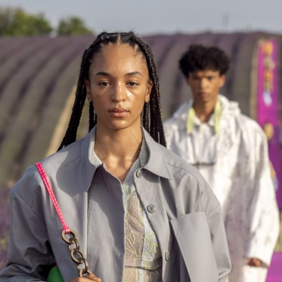 The Jacquemus Runway Was Pure Melanin Magic