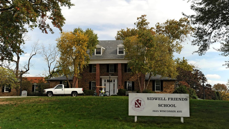 Former Sidwell Friends Student Blames Elite Prep School For Being Rejected By 13 Colleges