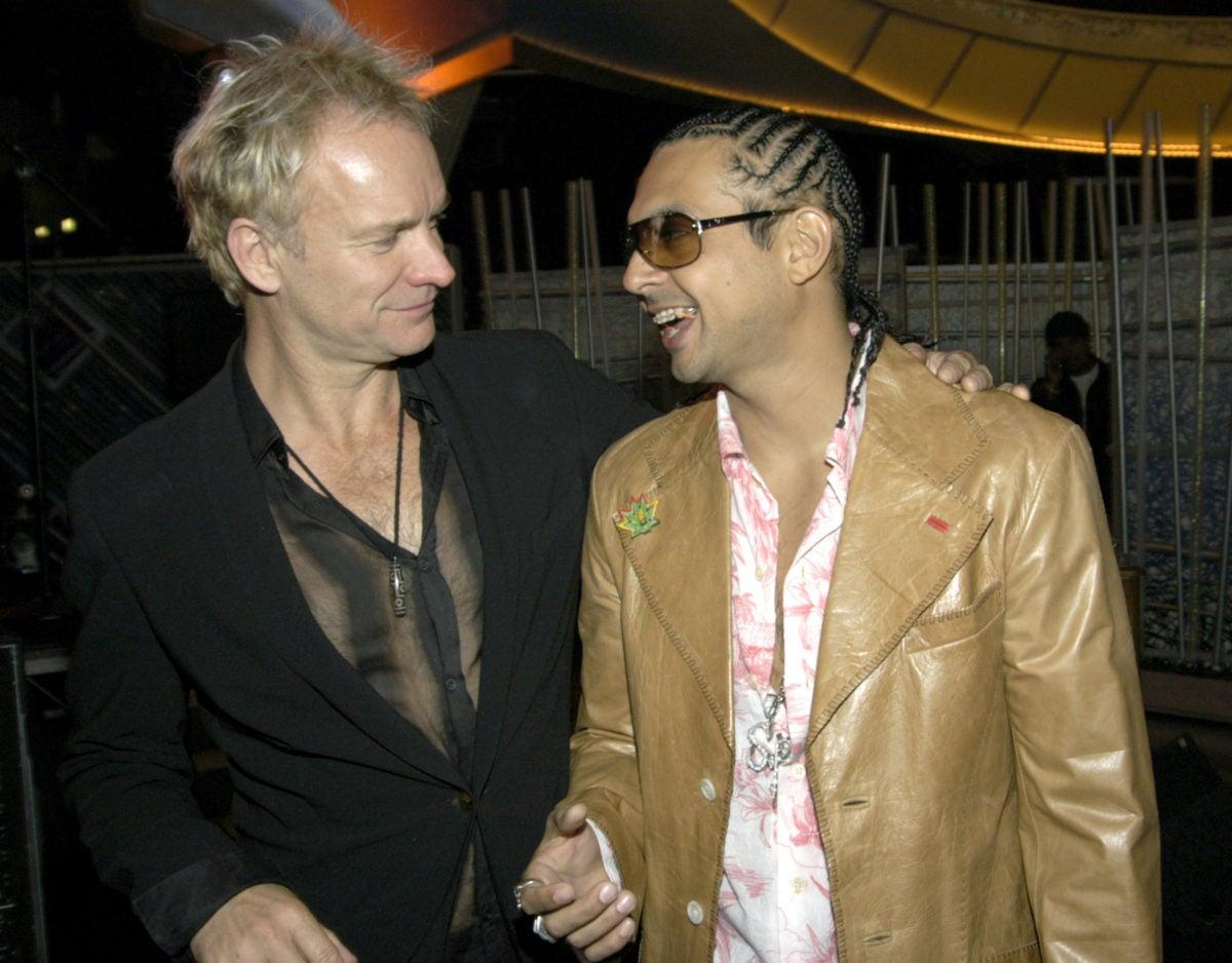 Sting and Sean Paul