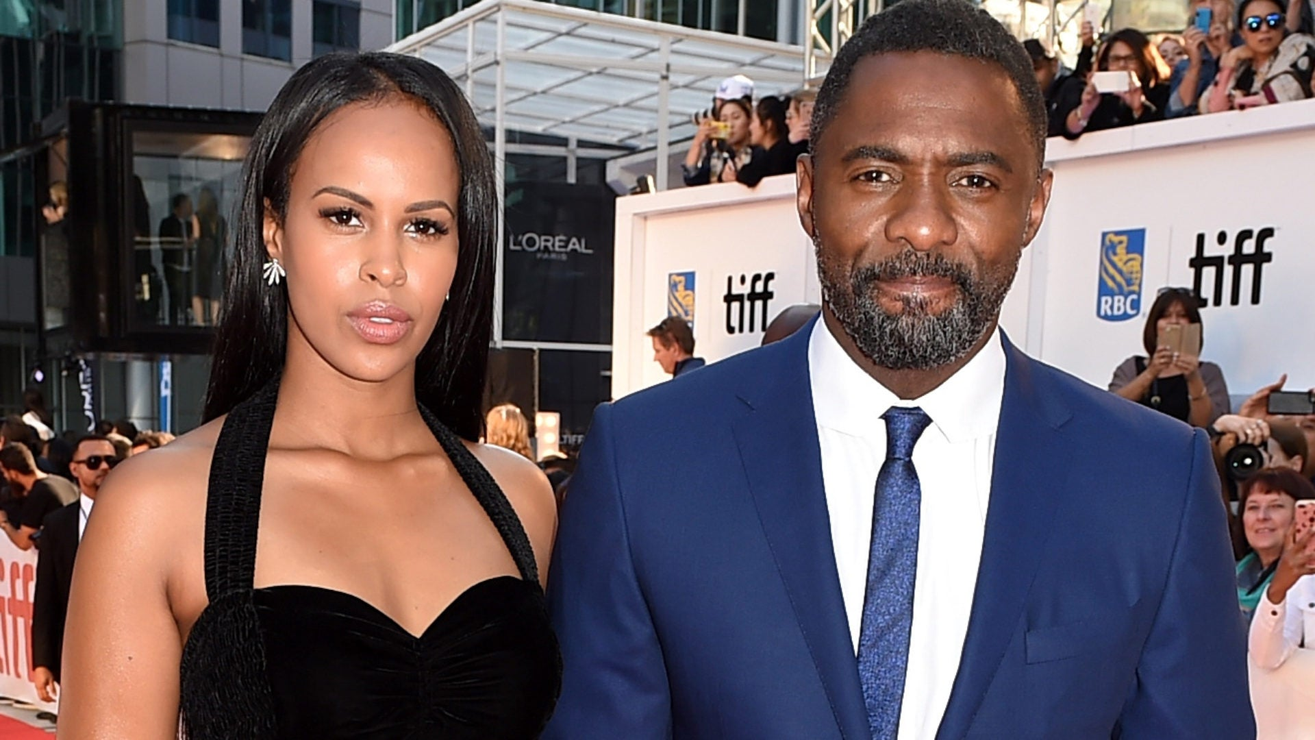 Idris Elba and Sabrina Dhowre Share More Wedding Photos In 'British Vogue'