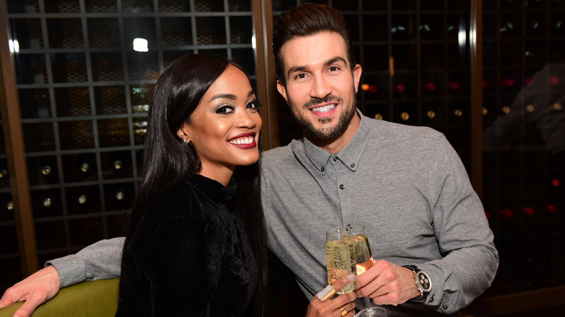 'Bachelorette' Star Rachel Lindsay Drops New Engagement Photos With Fiancé Bryan Abasolo