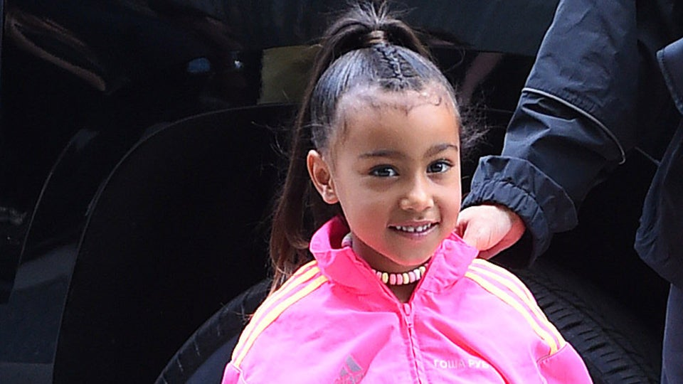 North West's Rainbow Braids Are  What Hair Dreams Are Made Of