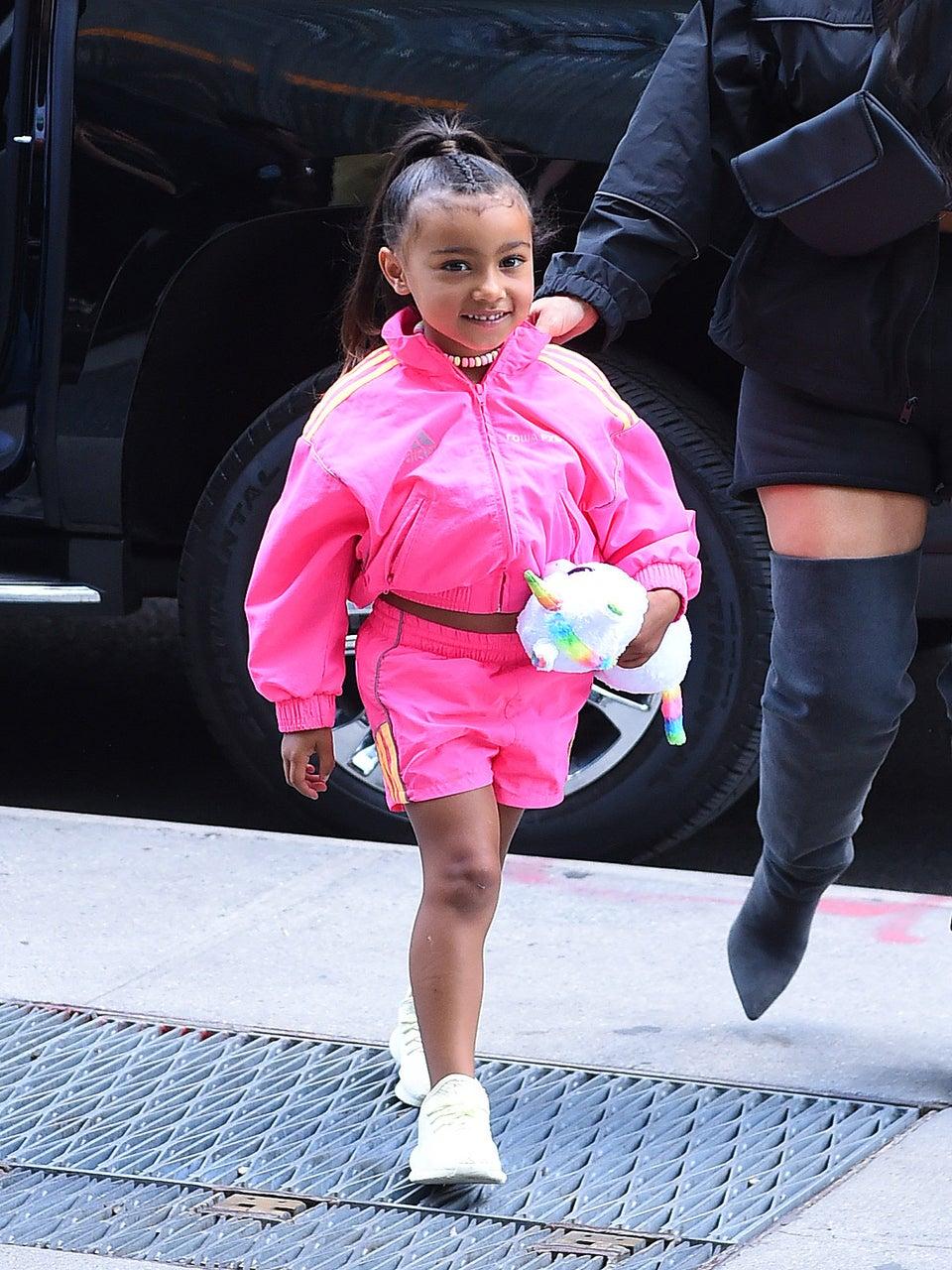 Kim Kardashian and Kanye West Buy Daughter Michael Jackson's Jacket for Christmas